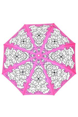 Зонт Chantal Thomass. Цвет: розовый, белый