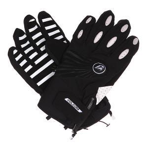 Перчатки сноубордические  Usstc Pipe Glove Black/White Volcom. Цвет: черный,белый