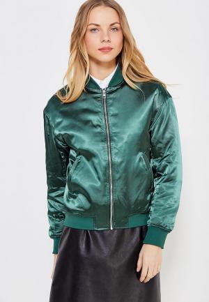 Куртка утепленная Calvin Klein Jeans. Цвет: зеленый