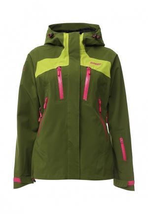 Куртка горнолыжная Bergans of Norway. Цвет: зеленый