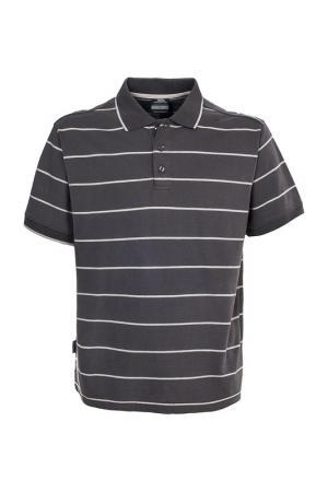 Рубашка-поло Trespass. Цвет: коричневый