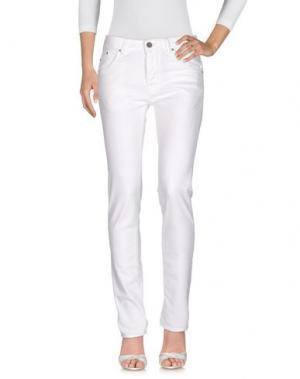 Джинсовые брюки HEAVY PROJECT. Цвет: белый