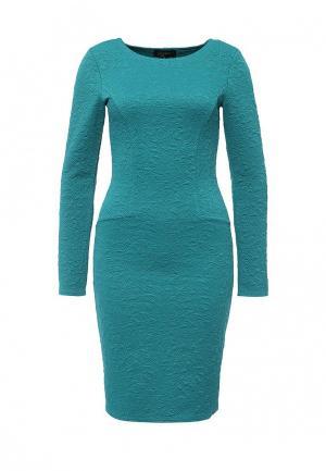 Платье LuAnn. Цвет: бирюзовый