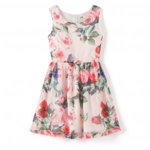 Платье без рукавов с цветочным рисунком MOLLY BRACKEN. Цвет: цветочный рисунок