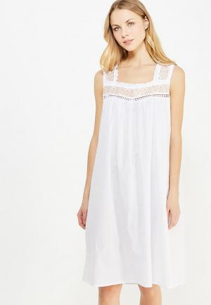 Сорочка ночная Mia-Mia. Цвет: белый