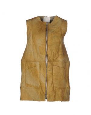 Куртка TROU AUX BICHES. Цвет: охра