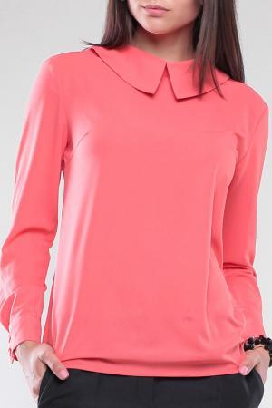 Блуза MAURINI. Цвет: коралловый