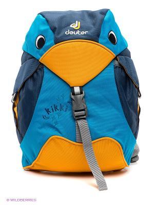 Рюкзак Deuter. Цвет: синий, голубой, желтый