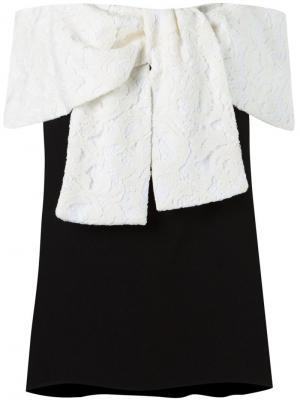 Off the shoulder blouse Martha Medeiros. Цвет: чёрный