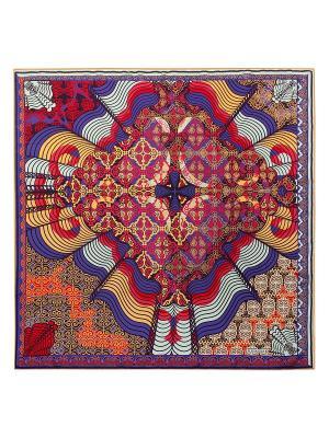 Платок Eleganzza. Цвет: светло-голубой, красный, малиновый, светло-оранжевый, фиолетовый