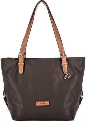 Текстильная сумка с длинными ручками Picard. Цвет: коричневый