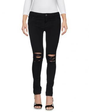 Джинсовые брюки ALYSI. Цвет: черный