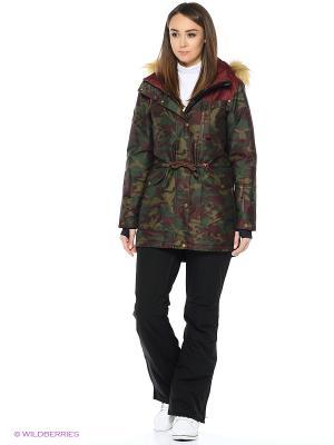 Куртка Stayer. Цвет: бордовый, коричневый, зеленый, хаки