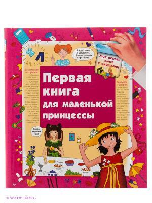 Первая книга маленькой принцессы Издательство АСТ. Цвет: фуксия
