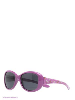 Солнцезащитные очки Polaroid. Цвет: фиолетовый