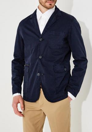 Пиджак Woolrich. Цвет: синий