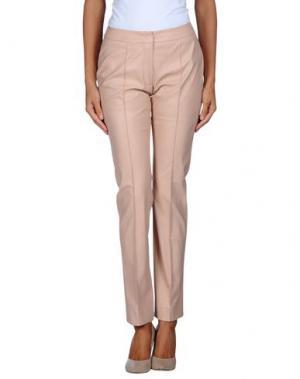 Повседневные брюки NATAN. Цвет: телесный