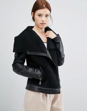 Urbancode Куртка с воротником-труба. Цвет: мульти