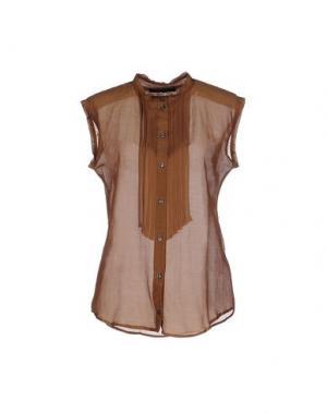 Pубашка MAURO GRIFONI. Цвет: верблюжий