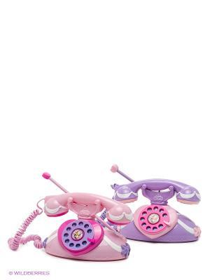 Рация-телефон со звуком  PRINCESS. Disney IMC toys. Цвет: сиреневый