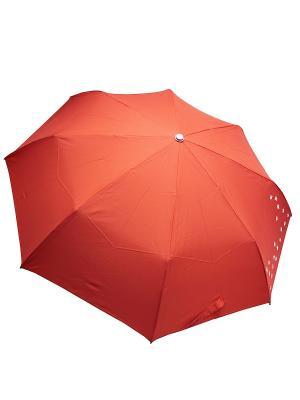 Зонт Edmins. Цвет: коралловый, белый
