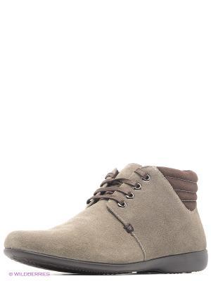 Ботинки Marko. Цвет: серый