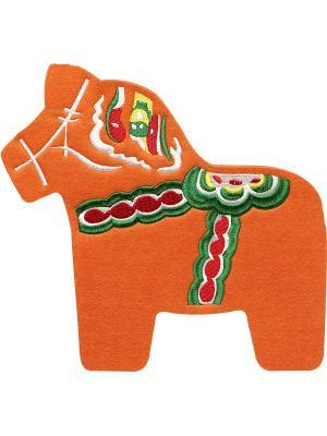 Подставка в виде лошади Sagaform. Цвет: оранжевый