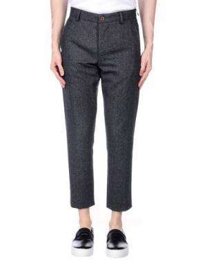 Повседневные брюки SUIT Est. 2004. Цвет: стальной серый