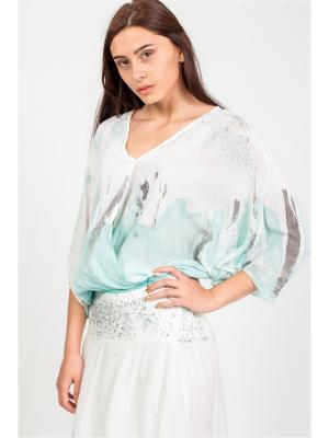 Блуза Amado Barcelona. Цвет: светло-зеленый