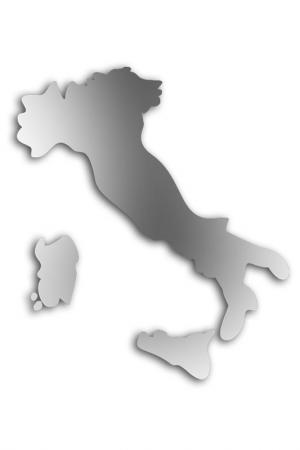 Зеркало Италия W-ERA. Цвет: зеркальный
