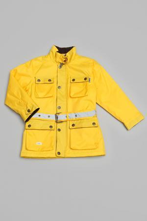 Куртка Trasluz. Цвет: желтый