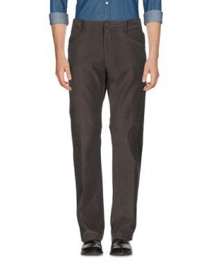Повседневные брюки MARLBORO CLASSICS. Цвет: стальной серый