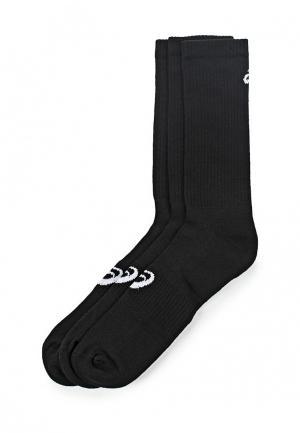 Комплект носков 3 пары ASICS. Цвет: черный