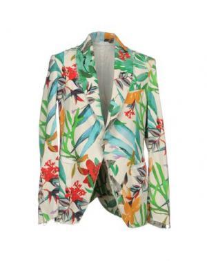 Пиджак NOSTRASANTISSIMA. Цвет: зеленый