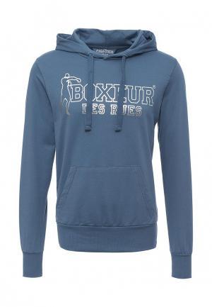 Худи Boxeur Des Rues. Цвет: голубой