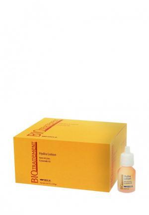 Лосьон увлажняющий с эффектом термозащиты Brelil Professional. Цвет: оранжевый