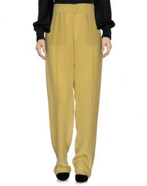 Повседневные брюки PINKO UNIQUENESS. Цвет: кислотно-зеленый