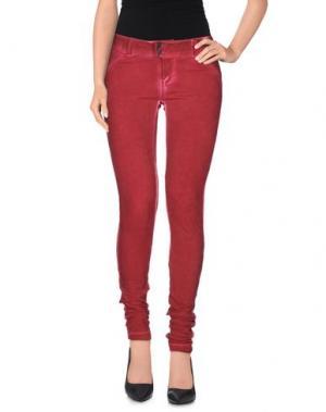 Повседневные брюки CLARK JEANS. Цвет: пурпурный
