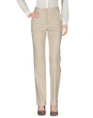 Повседневные брюки MURPHY & NYE. Цвет: бежевый