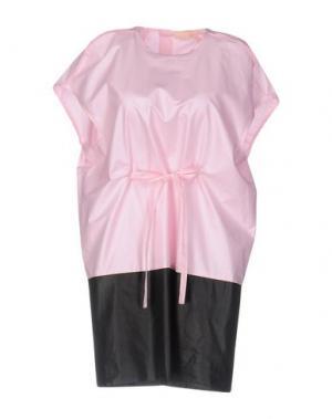 Короткое платье TROU AUX BICHES. Цвет: розовый