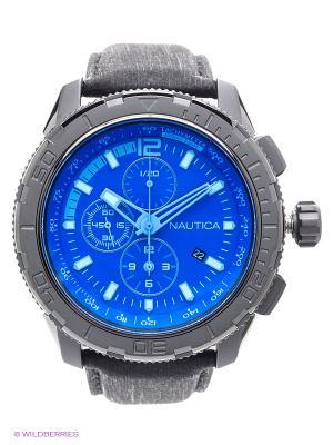Часы наручные Nautica. Цвет: черный