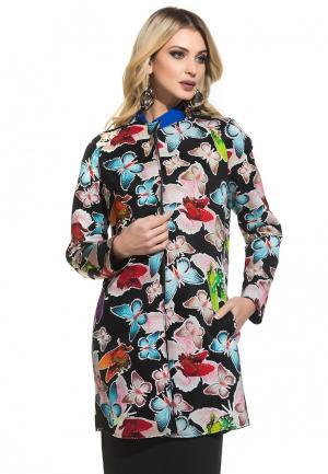 Пальто Gloss. Цвет: разноцветный