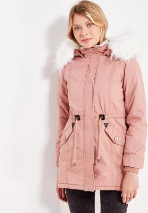 Парка Z-Design. Цвет: розовый