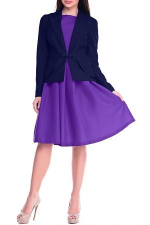 Комплект Dioni. Цвет: пурпурный, темно-синий