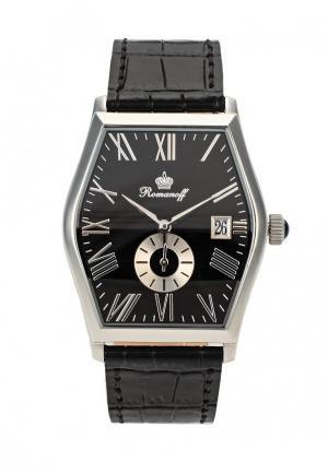 Часы Romanoff. Цвет: черно-белый