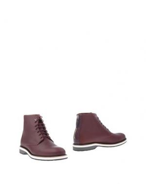Полусапоги и высокие ботинки WANT LES ESSENTIELS DE LA VIE. Цвет: красно-коричневый