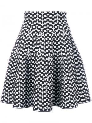Расклешенная юбка Antonino Valenti. Цвет: чёрный
