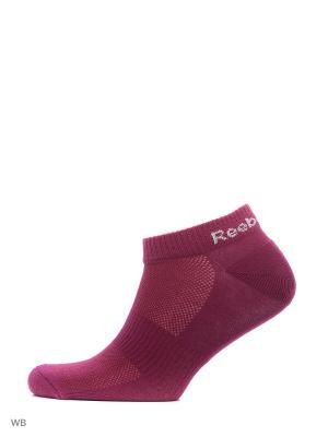 Носки Reebok. Цвет: фиолетовый