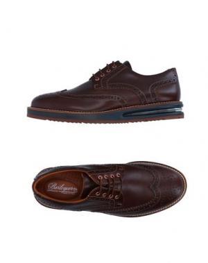 Обувь на шнурках BARLEYCORN. Цвет: какао