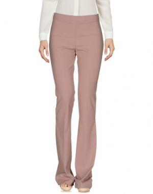Повседневные брюки MALAICA. Цвет: телесный